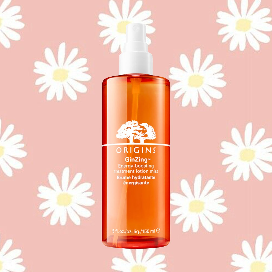 Origins GinZing Energy-Boosting Treatment Lotion Mist edit seven beauty products for no stress
