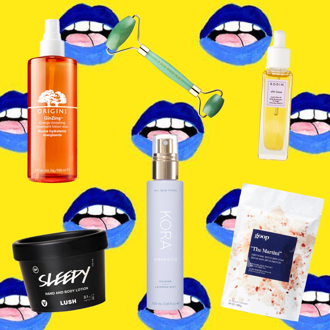 edit seven beauty products for no stress