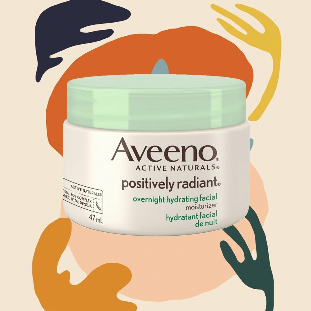 aveeno overnight hydrating facial