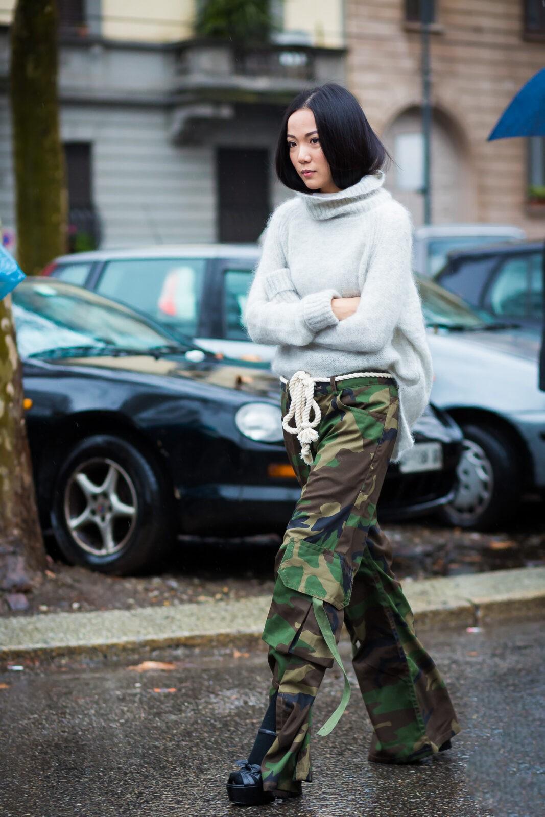 Yoyo Cao stylebook edit seven camouflage