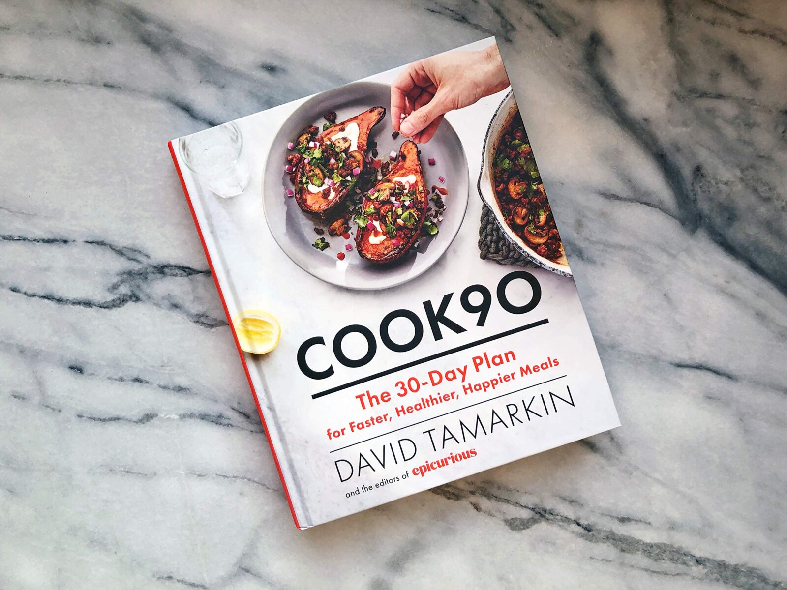 epicurious david tamarkin edit seven cookbooks january 2019