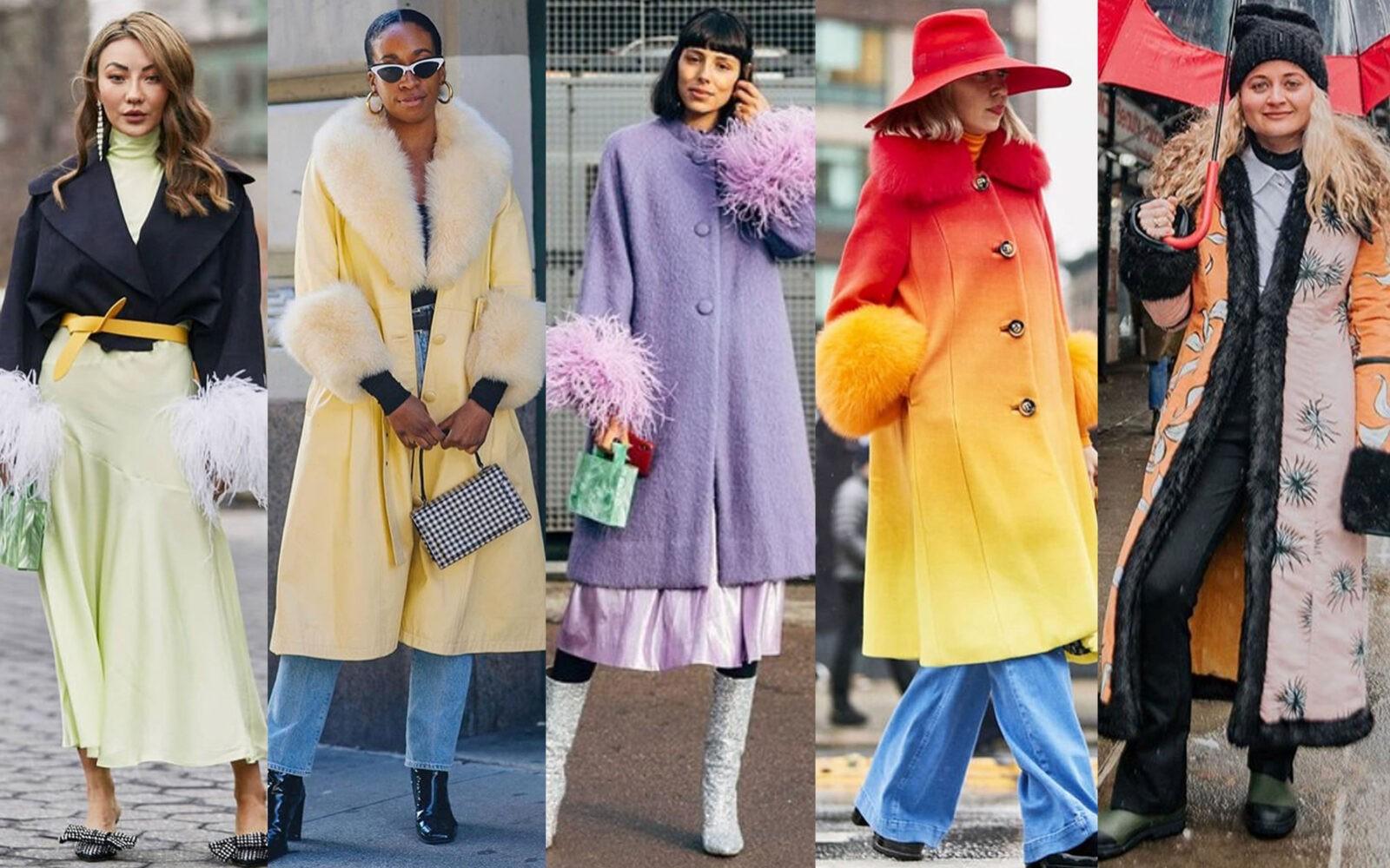 edit seven fur trimmed coats