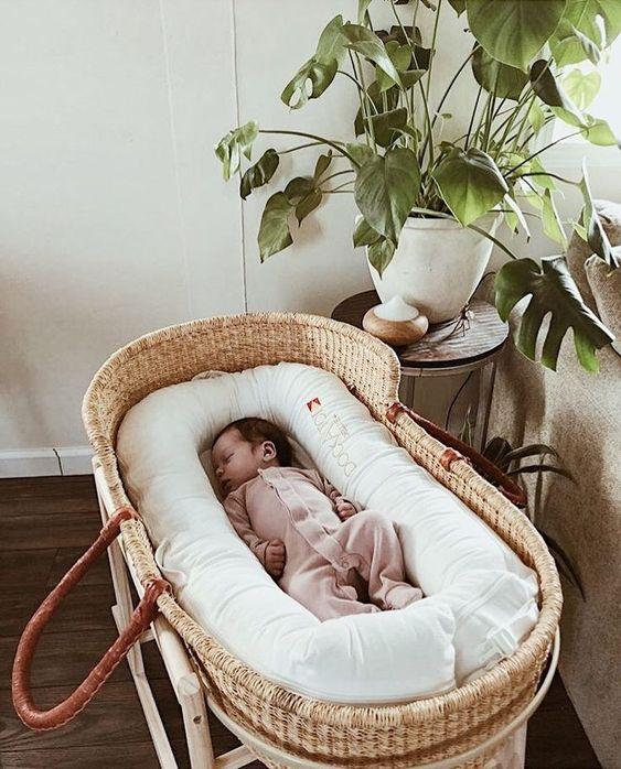 baby essentials for newborns - moses basket