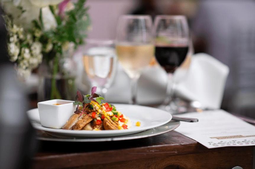 tom gore wine - creamy polenta and vegetables recipe