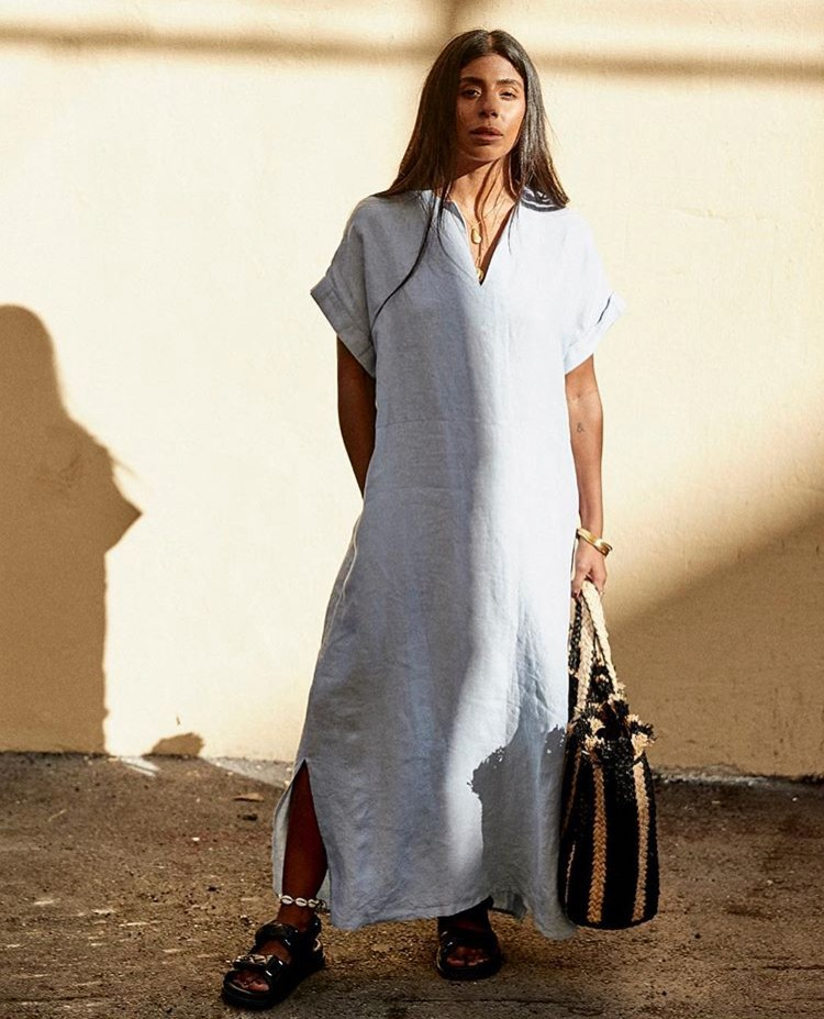 monikh dale shirtdress stylebook edit seven