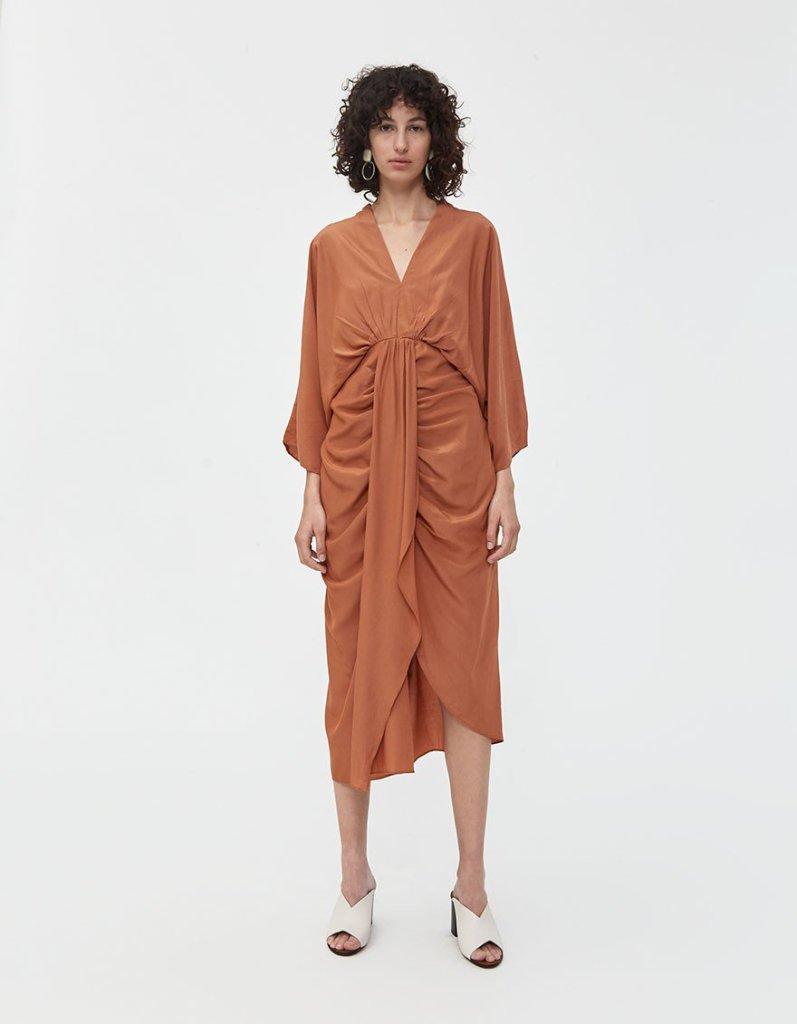 tina gathered dress need supply