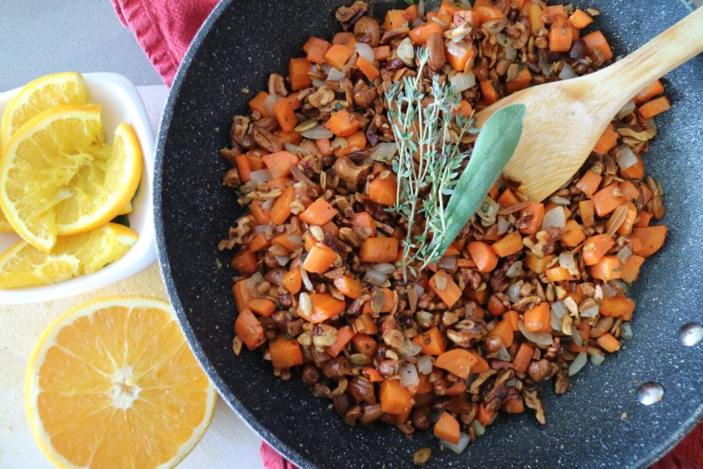 Bread-Free Stuffing Recipe - Citrus From Chile 2