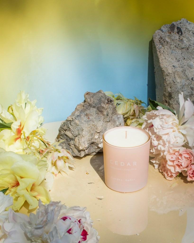 Cardea Auset Cedar candle