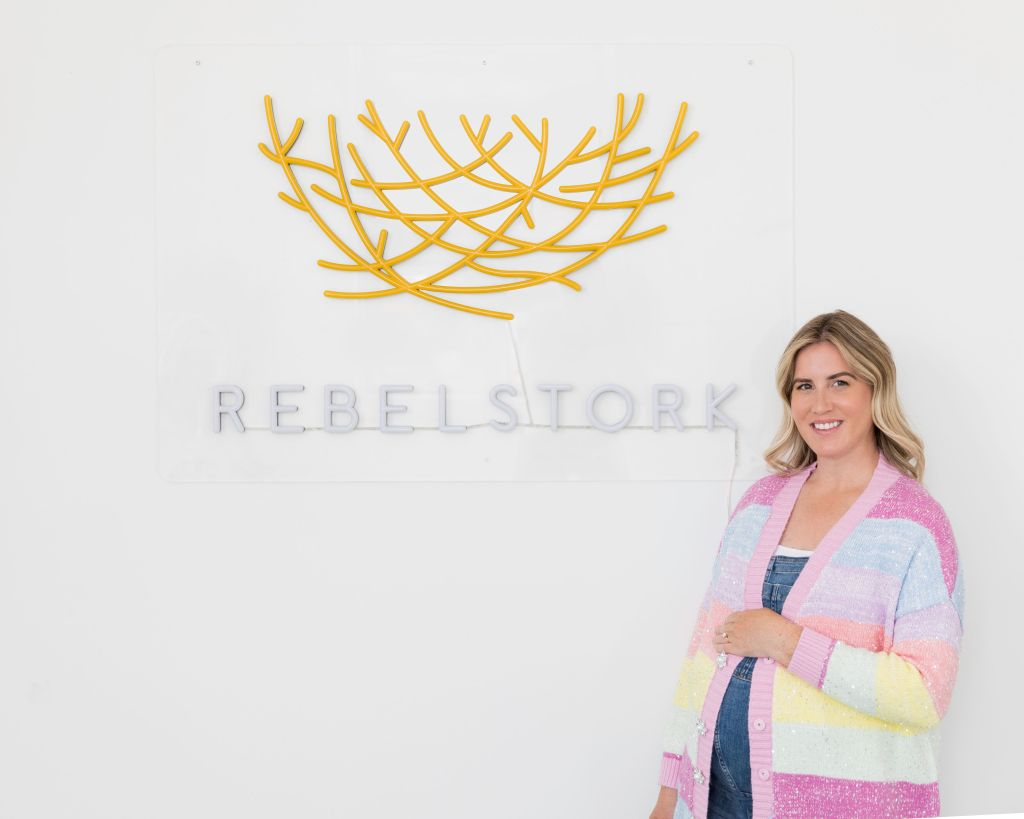 rebelstork founder - re-selling baby clothes - edit seven