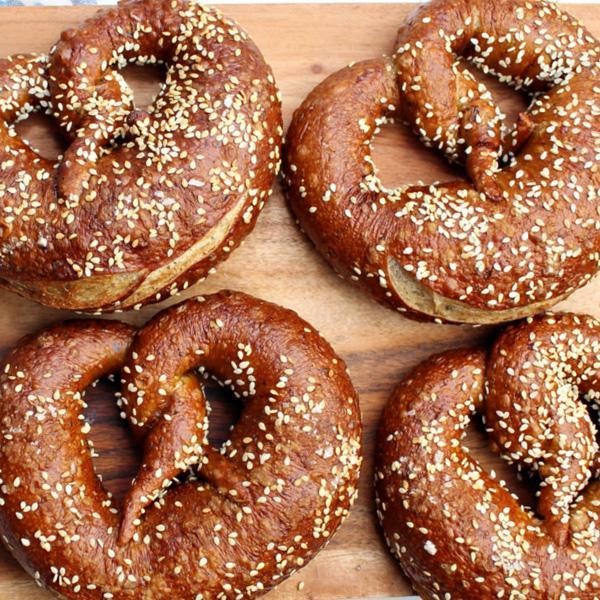 photo of pretzels from Toronto Market Co.