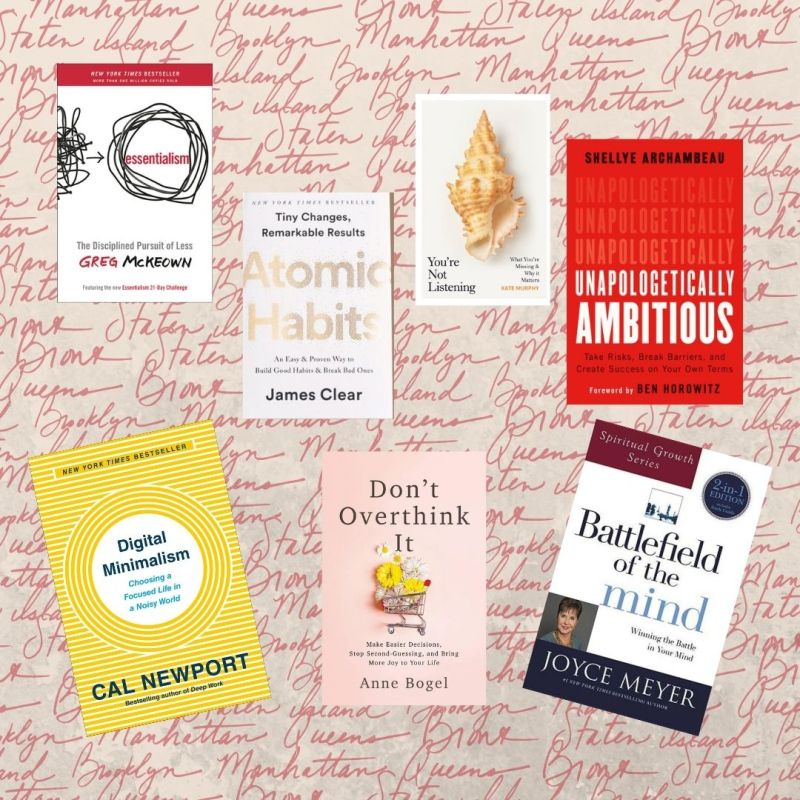 self-help books featured