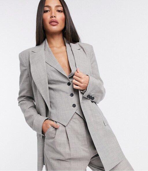 Bridgerton-inspired menswear suit from Asos