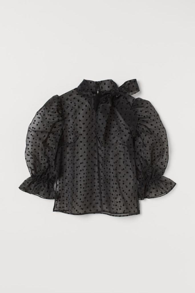 puff sleeve from H&M