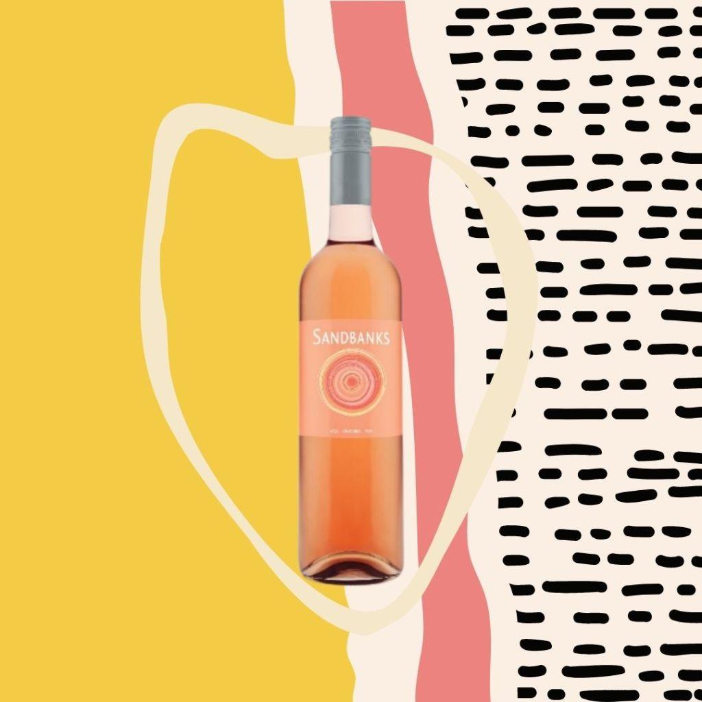Sandbanks rosé wine