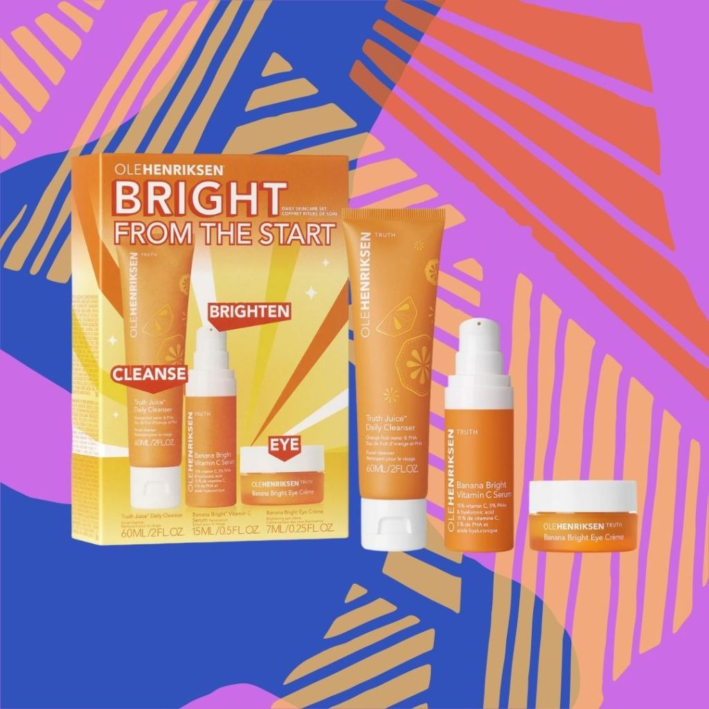 ole henriksen daily skincare set available starting August