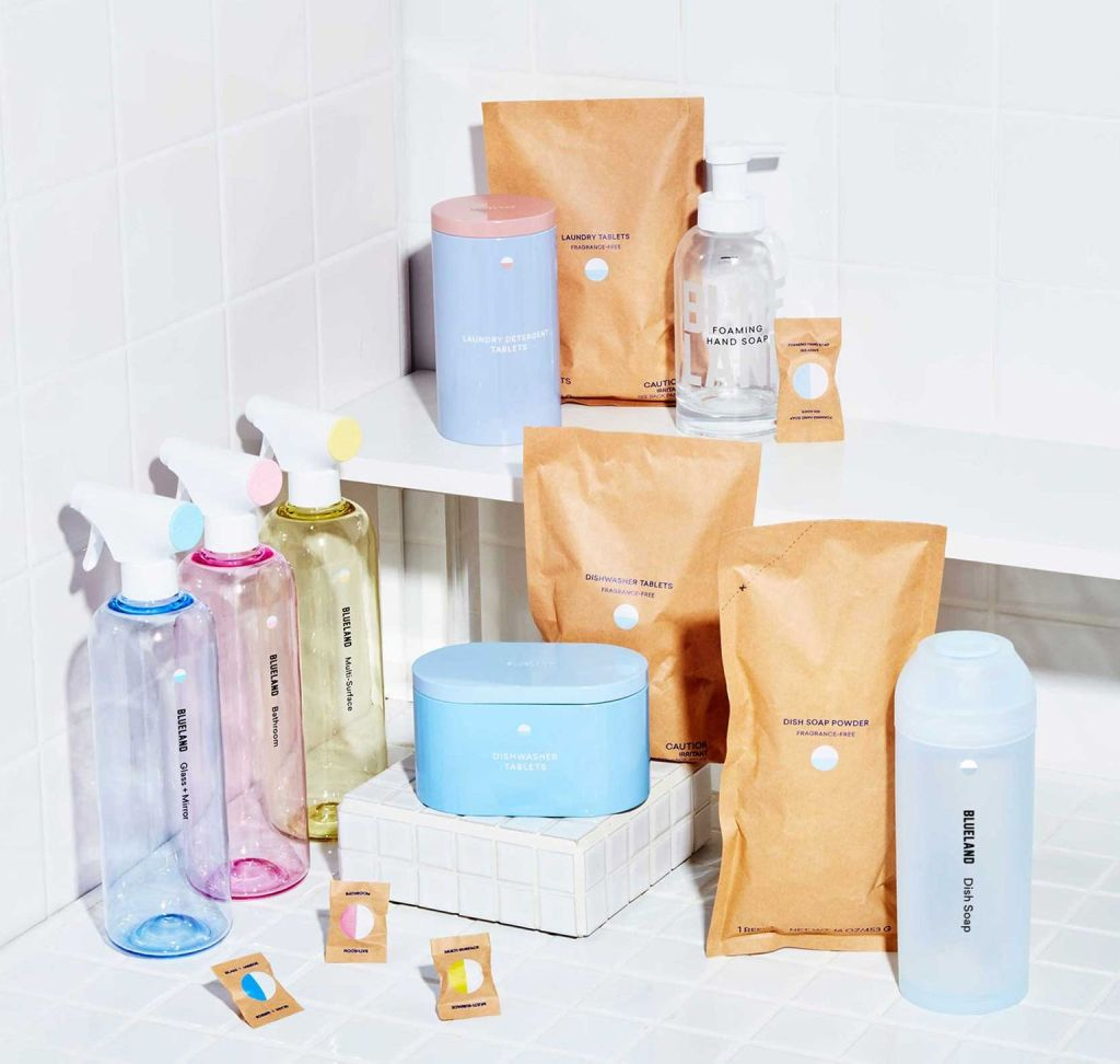 zero-waste cleaning products from Blueland