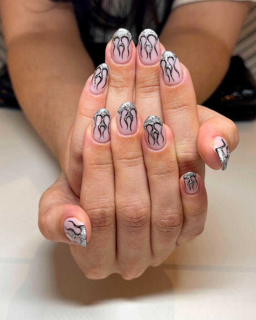 rebecca paints nails toronto