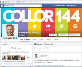 facebook collor