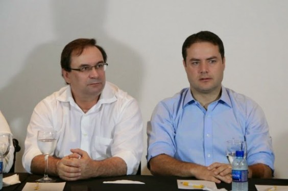 Renan Filho e Luciano Barbosa