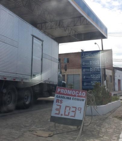 Gasolina já está mais cara nos postos de Maceió