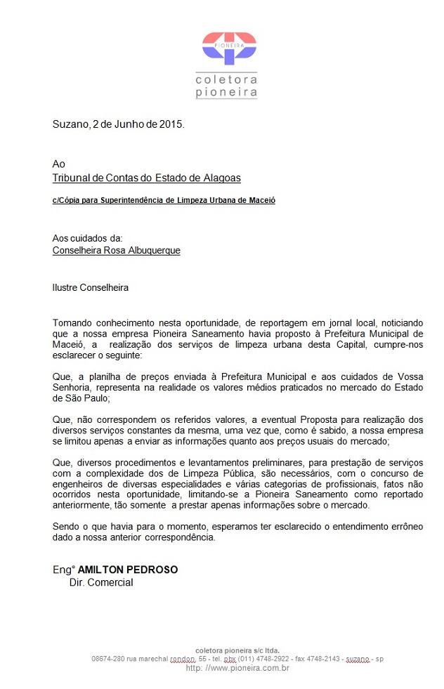 aad7a9b9b Grupo de SP tenta  envolver  TCE em proposta para coleta de lixo em ...