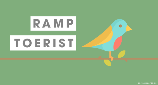 Ramptoerist - Kort verhaal - EdivaniaLopes.nl