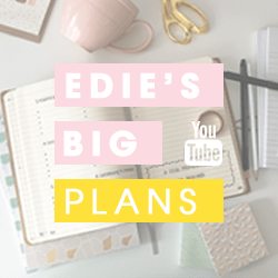Edie's Big Plans op Youtube | Edivania Lopes
