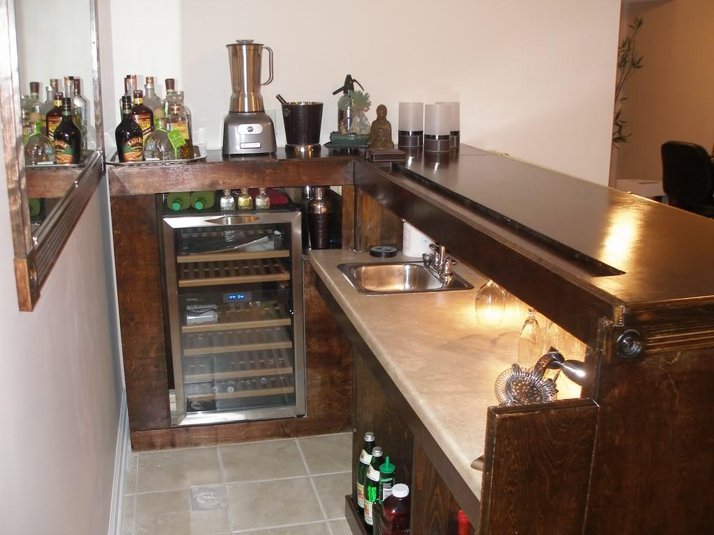 coolest diy home bar ideas elly s diy