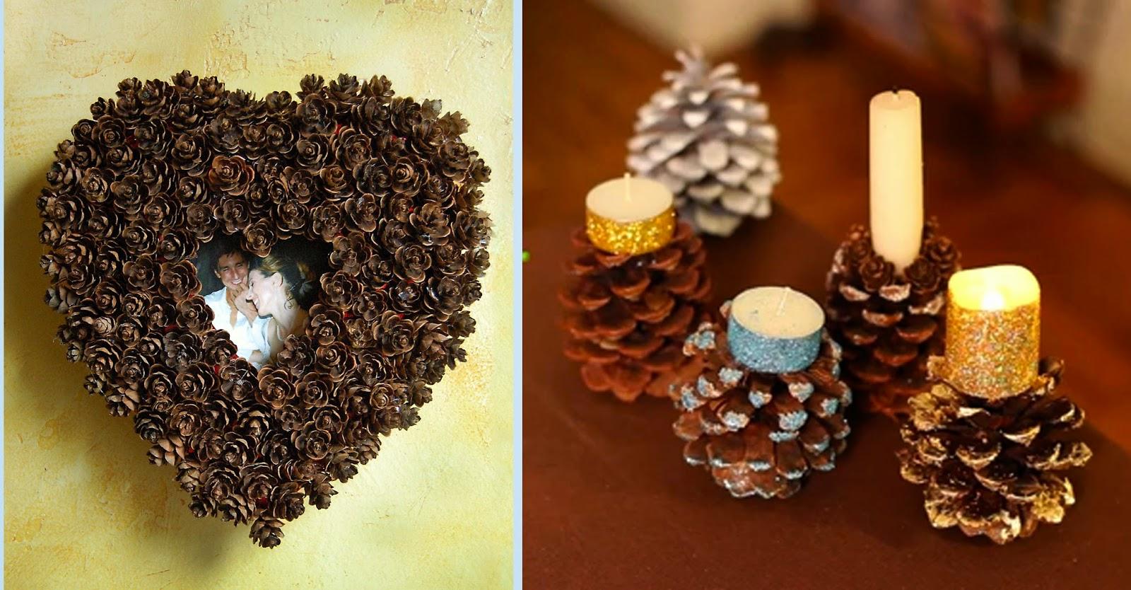 Easy Pine Cone Projects Ellys DIY Blog