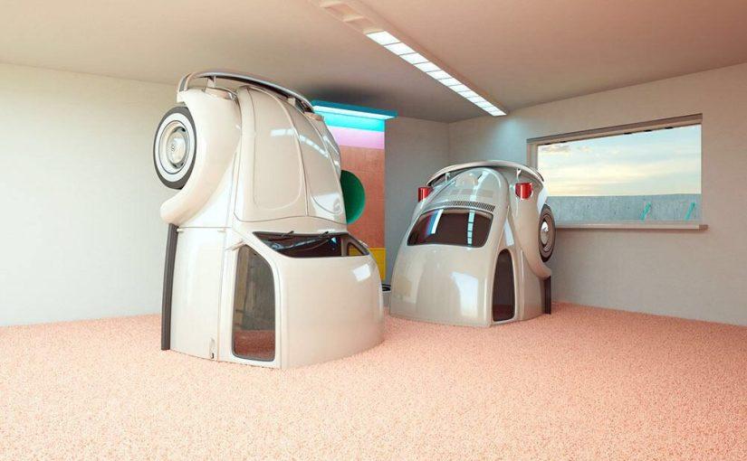 La Fantasia visionaria delle auto di Chris Labrooy