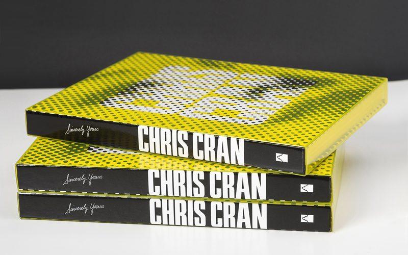 Il catalogo della mostra di Chris Cran assomiglia ad un design objecto