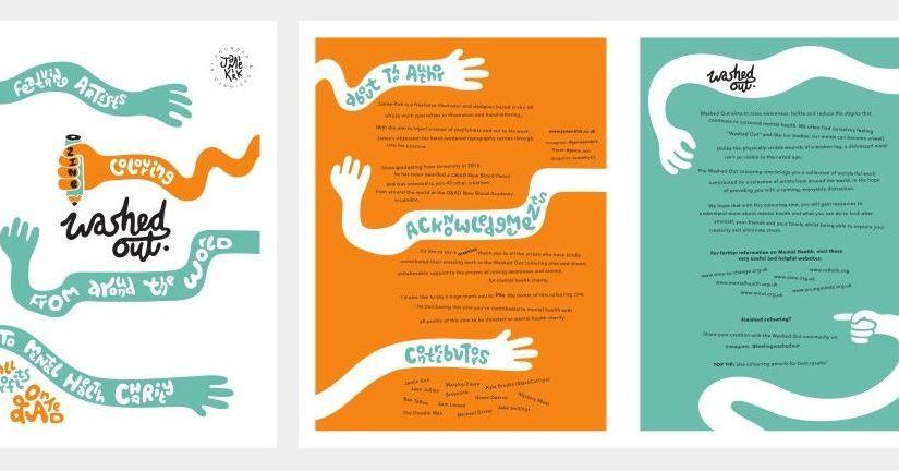 """""""Washed Out"""" una fanzine fatta da illustratori per sostenere la ricerca sulla salute mentale"""