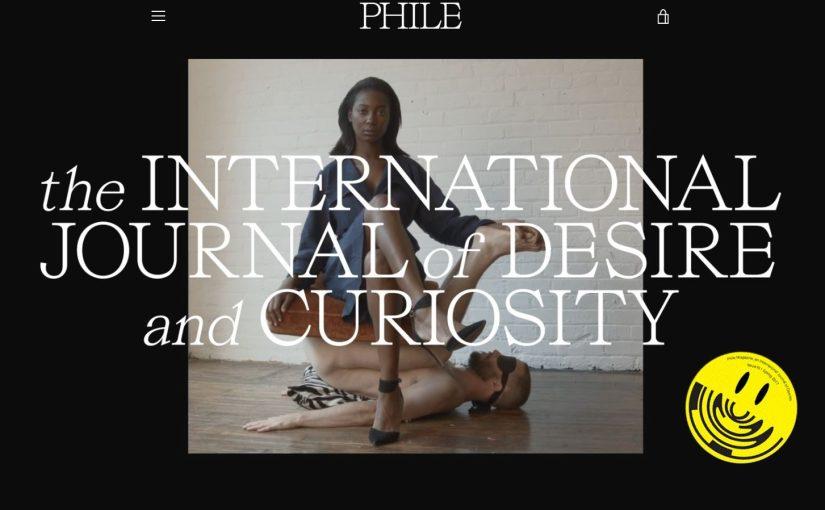 Phile Magazine, perché ognuno ha il proprio sesso