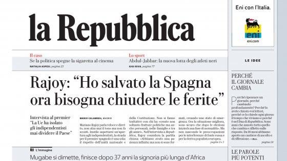 Qualche considerazione sulla nuova versione cartacea del quotidiano la Repubblica