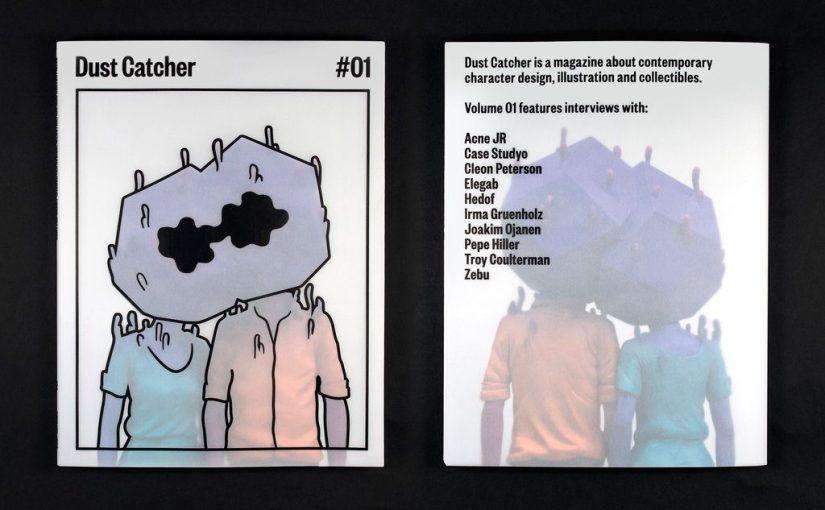 """Presentare il nuovo magazine """"Dust Catcher"""" mi ha fatto riflettere sullo strano rapporto fra magazines e pubblicità"""