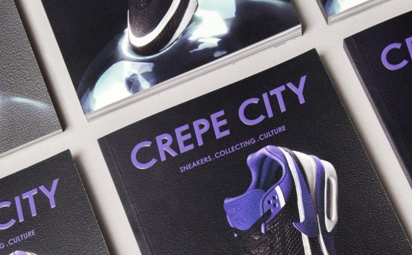 """""""Crepe City"""" il magazine dedicato alle sneakers più famoso d'Europa"""