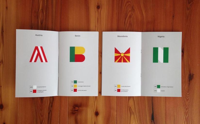 L'italianissima etichetta di autoproduzioni Ciclostile presenta l'Abecedario delle bandiere vol.1 e 2