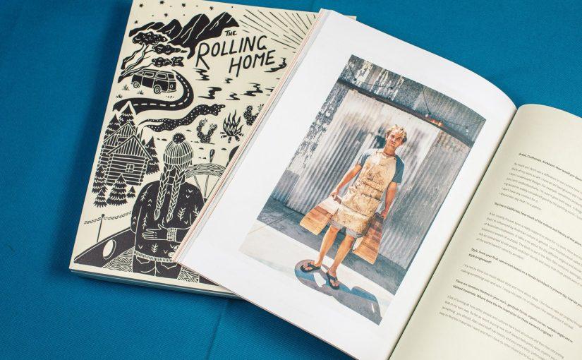 """""""The rolling Home"""" è il magazine perfetto per chi vive la propria vita sempre in viaggio"""