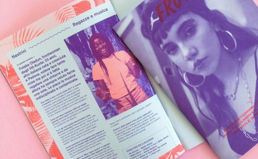 FRUTE è una grafica sensuale, uno strumento di discussione e una rivista indipendente di cui correte il rischio di innamorarvi