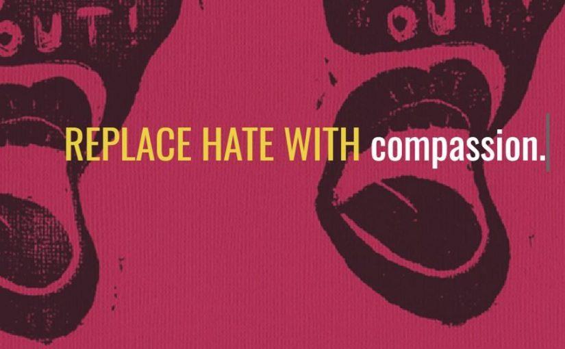 Un progetto di riconversione grafica adattato ai poster razzisti dei campus universitari