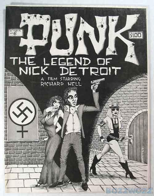 Photo  brucecarleton.com Punk magazine  6 – 1976 fbd8045ac6f7
