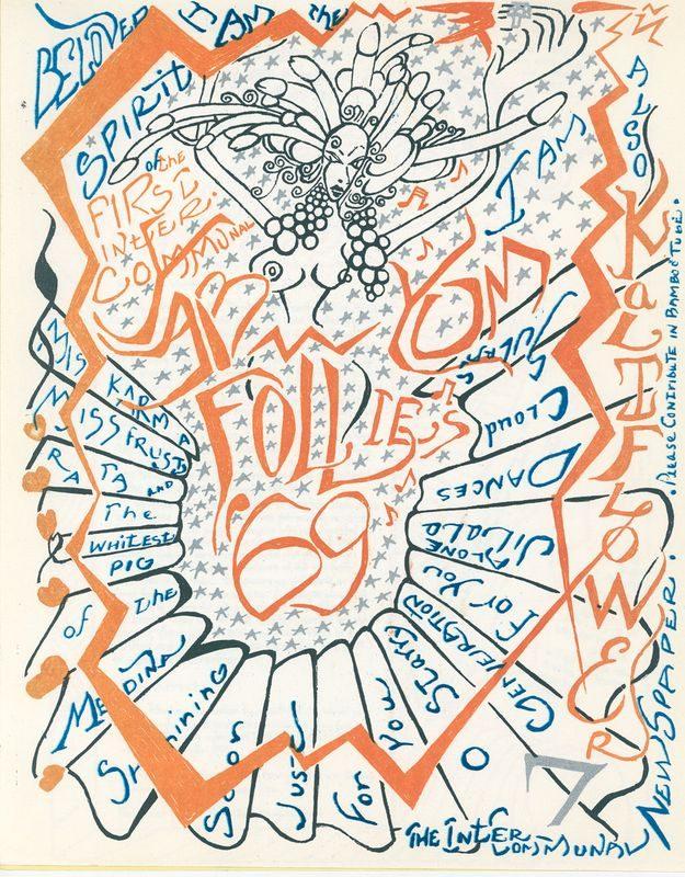 Hold-up Calze Hippy Flower Design Pattern Stampato Taglia unica regolare