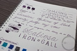 Roher and Klingner Scabiosa Iron Gall Fountain Pen Ink Review