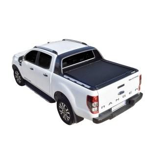 Rulou benă Double Cab negru mat Ford Ranger - '12 - Prezent cu rollbar OEM 2 - 1