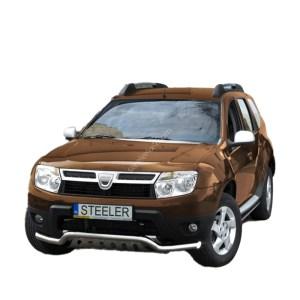Bullbar Omologat - Low 2 Dacia Duster '10 - '18