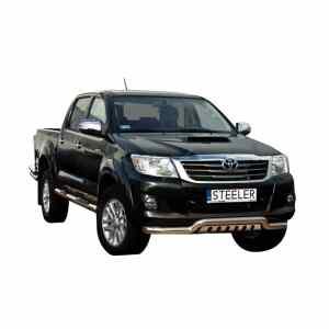 Bullbar Omologat - Low 2 Toyota Hilux '11 - '15