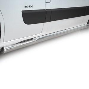 Praguri cu treaptă din Inox - Renault Master '10 - '19