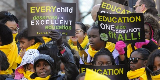 School Choice protest
