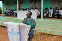 Pastor giving remarks