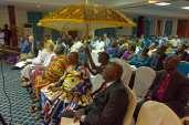 The representative of the Ashanti King, in Kumasi